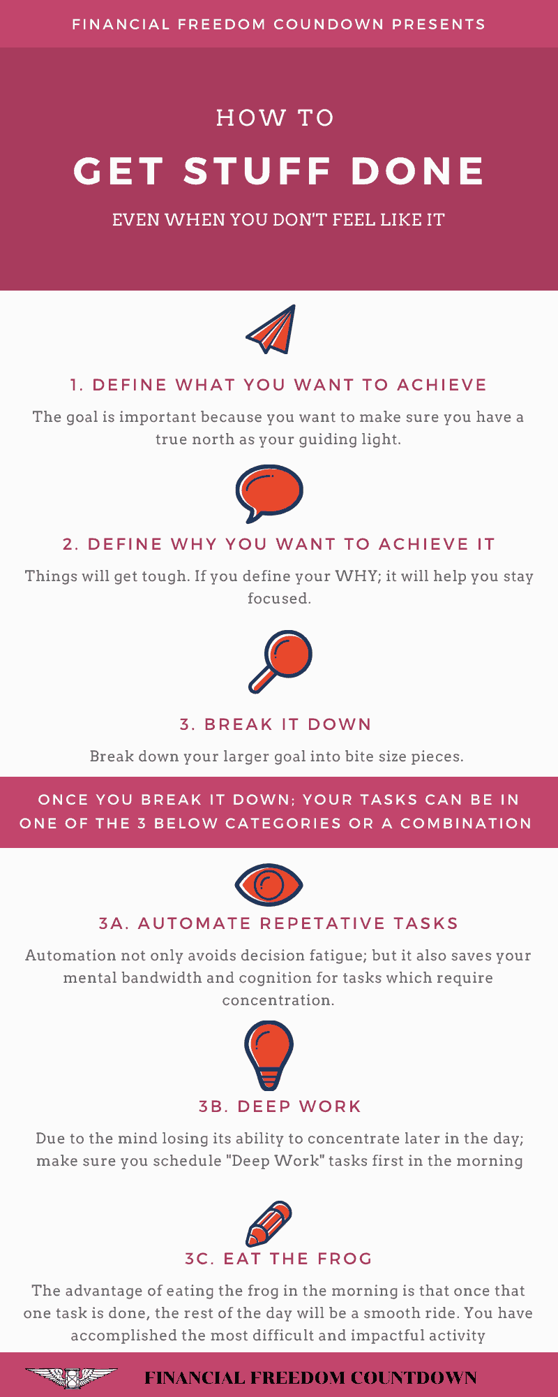 How To Get Stuff Done Even When You Don't Feel Like It
