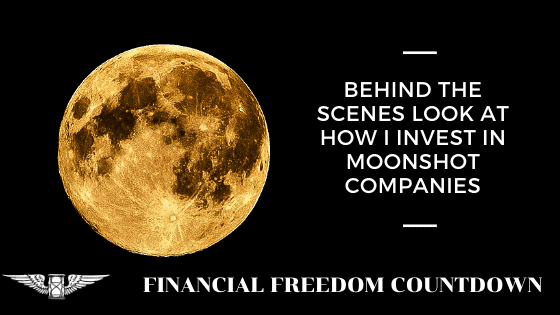 Behind The Scenes Look At How I Invest In Moonshot Companies