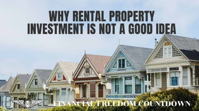 Why Residential Rental Property Investment Is No Longer A Good Idea