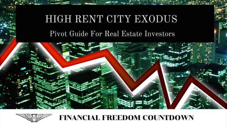 High Rent City Exodus: Pivot Guide For Real Estate Investors
